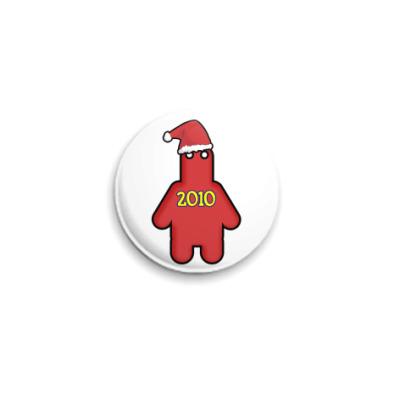 Значок 25мм 2010
