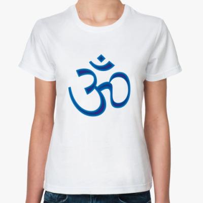 Классическая футболка Om