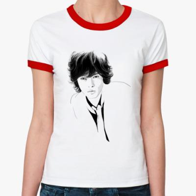 Женская футболка Ringer-T  ЯмаПи