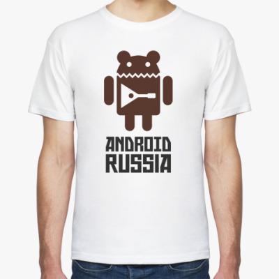 Футболка Android Russia