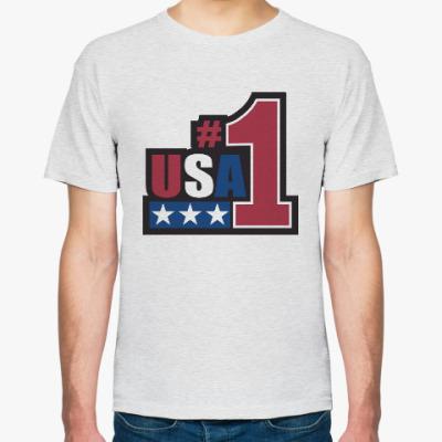 Футболка USA Number 1