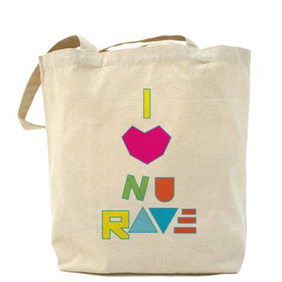 Сумка I love NuRave