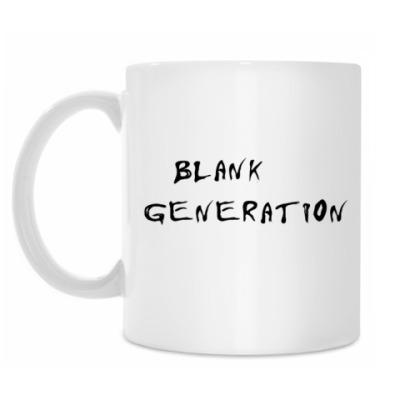 Кружка 'blank generation'