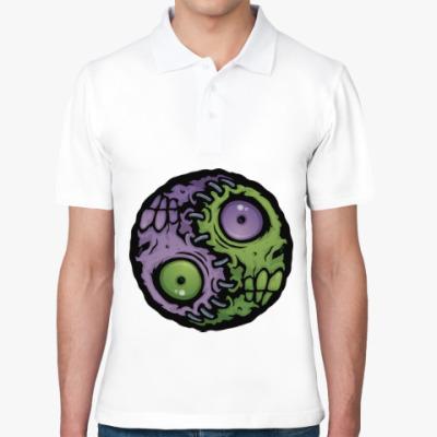 Рубашка поло Зомби инь-ян