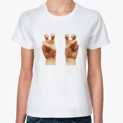 Классическая футболка Кавычки загнивающего запада