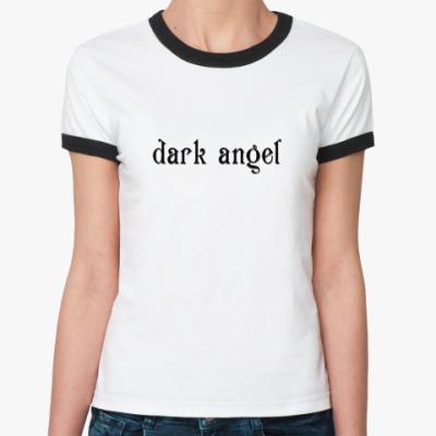 Женская футболка Ringer-T   Ангел