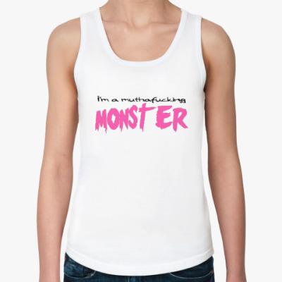 Женская майка Monster