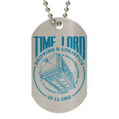 Жетон dog-tag Time Lord
