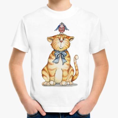 Детская футболка Рыжик