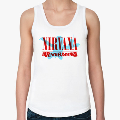 Женская майка Nirvana