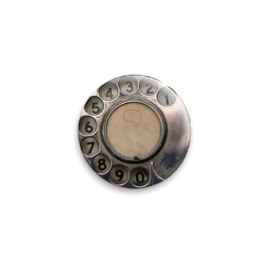 Значок 25мм  dial phone