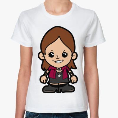 Классическая футболка Алая Ведьма