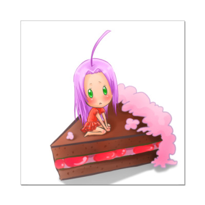 Наклейка (стикер) 'Cherry'