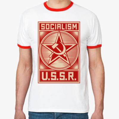 Футболка Ringer-T Советский Союз