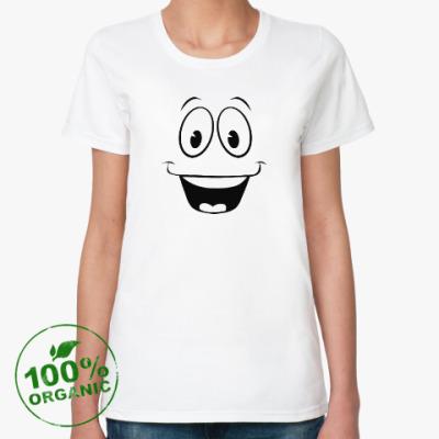 Женская футболка из органик-хлопка Yes Man Fallout New Vegas