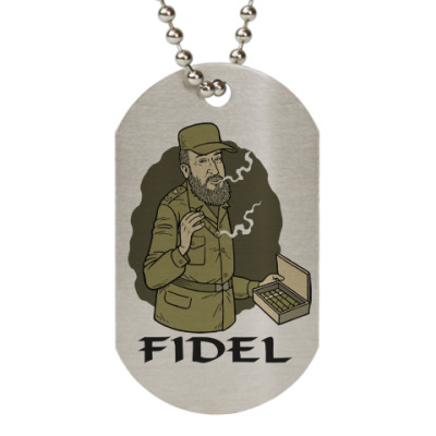 Жетон dog-tag Fidel