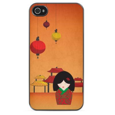 Чехол для iPhone Маленькая Япония