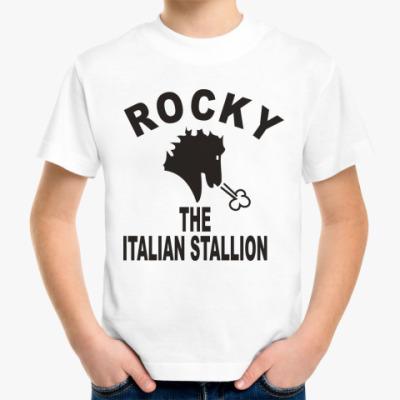 Детская футболка Rocky