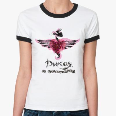 Женская футболка Ringer-T Дикая