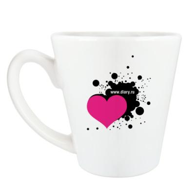Чашка Латте Добрая кружка