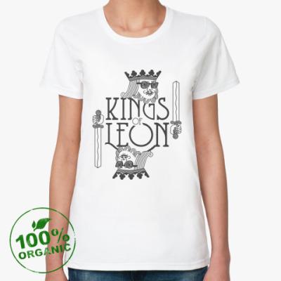 Женская футболка из органик-хлопка Kings of Leon