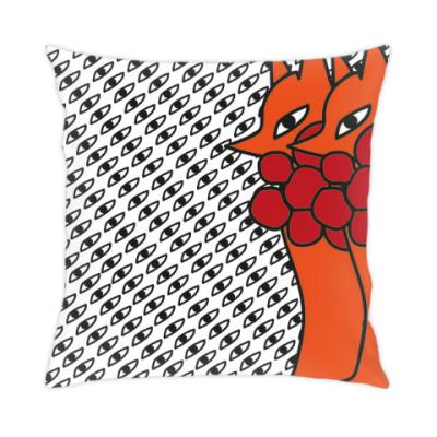 Подушка лисички
