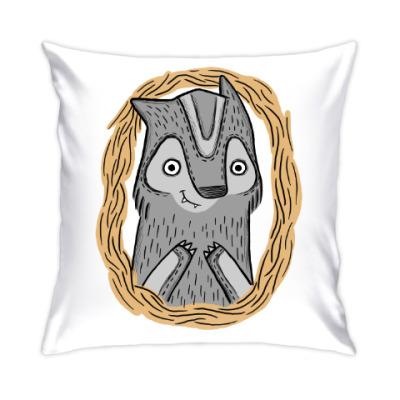 Подушка Волчик