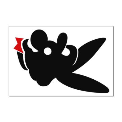 Наклейка (стикер) Mario Playboy