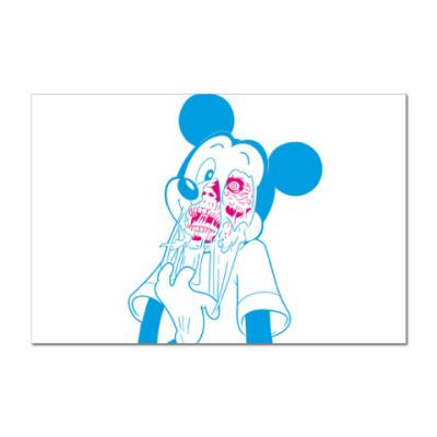 Наклейка (стикер) Zombi