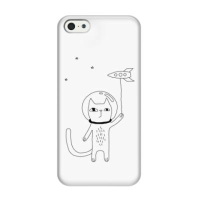 Чехол для iPhone 5/5s Космический кот