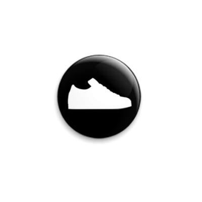 Значок 25мм  Sport Shoe