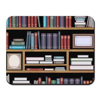 Коврик для мыши Книжные полки