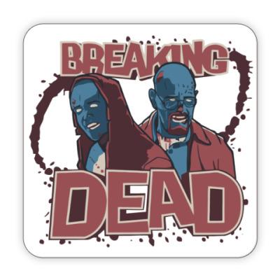 Костер (подставка под кружку) Breaking Bad - Walking Dead