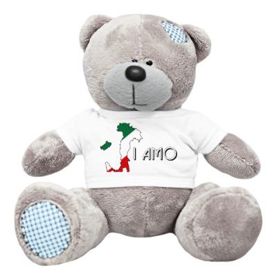 Плюшевый мишка Тедди Я люблю тебя по-итальянски