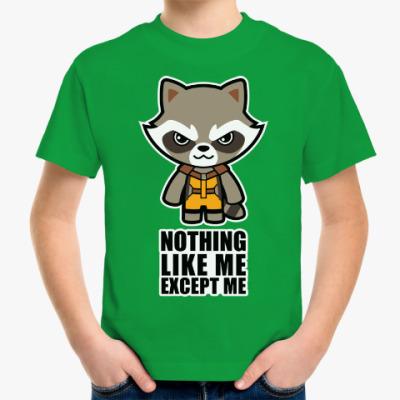 Детская футболка Никто кроме меня