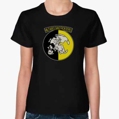 Женская футболка MSF (Metal Gear Solid)