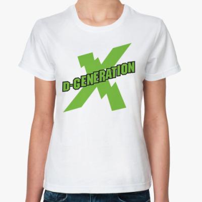 Классическая футболка D Generation X