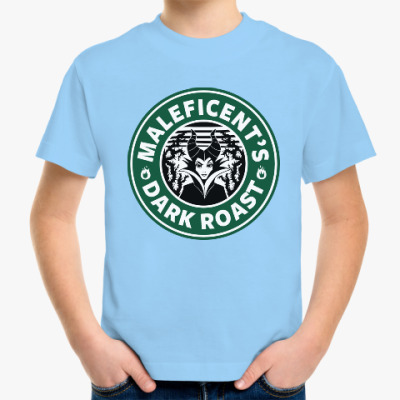 Детская футболка Maleficents Dark Roast