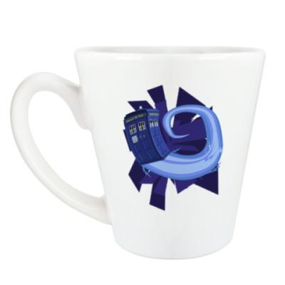 Чашка Латте Tardis, Doctor Who