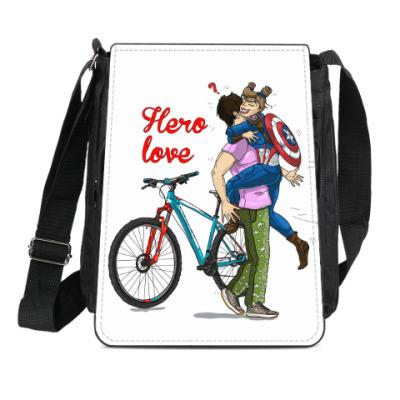 Сумка-планшет Hero-вая любовь