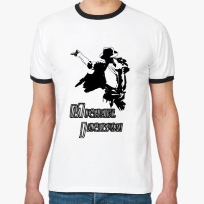 Футболка Ringer-T 'М.Джексон'