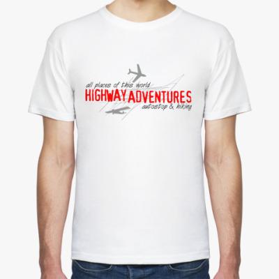 Футболка Highway Adventures