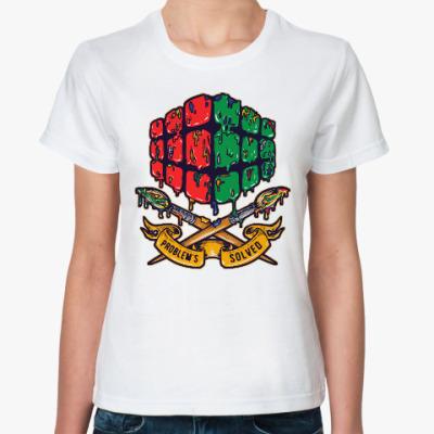 Классическая футболка Кубик Рубика | Спидкубинг