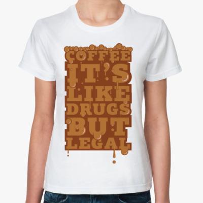 Классическая футболка  Кофеман