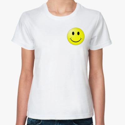 Классическая футболка Smiley