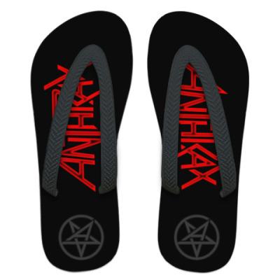 Шлепанцы (сланцы) Anthrax