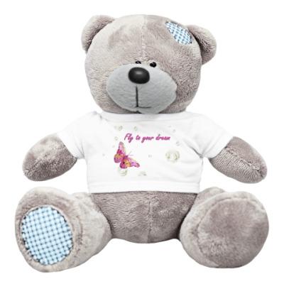 Плюшевый мишка Тедди Пожелание