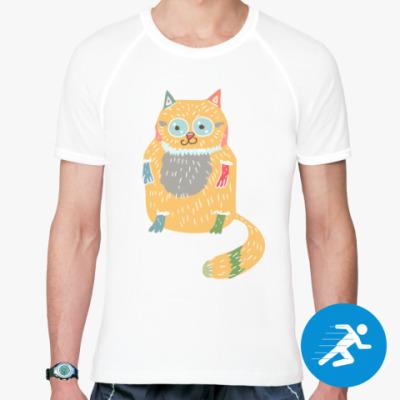 Спортивная футболка Котик