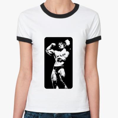 Женская футболка Ringer-T Арни