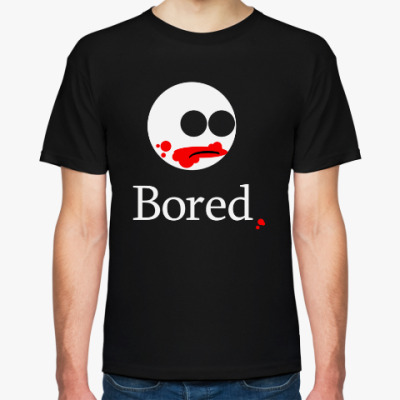 Футболка Устал / Bored